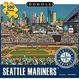 Jigsaw Puzzle - Seattle Mariners 500 Pc By Dowdle Folk Art