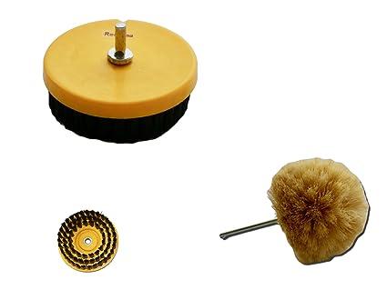 Vasca Da Bagno Ruggine : 2 pezzi spazzola per bohrmaschinen trapano avvitatore inserto medium