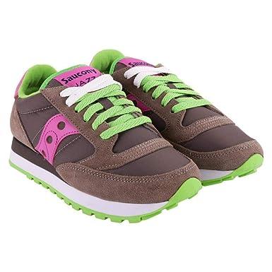 huge discount 8d44c bb589 Amazon.com: Sneakers Jazz Original Grey and Purple, Womens ...