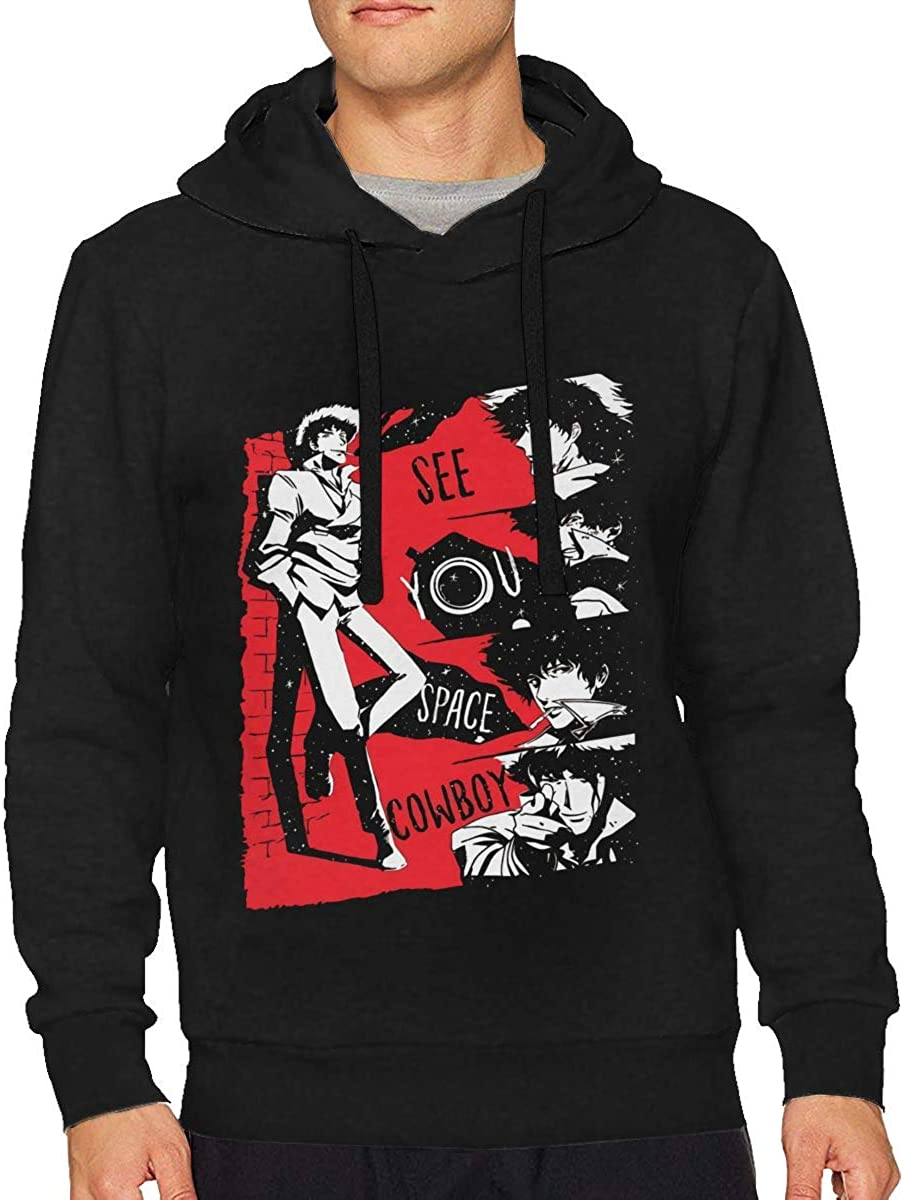 AdelineEstell See You Space Cowboy Men Fashion Keep Warm Hoodie
