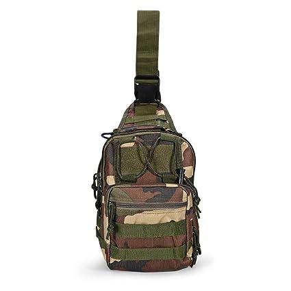 7a33ff7ef7ed62 iLifeSmart Mochila Pechera Militar Multiusos de Hombro Cruzada Campismo el  Bolso del Senderismo para Viaje (