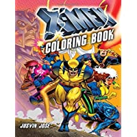 X-Men Coloring Book: For Kids Ages 3-8
