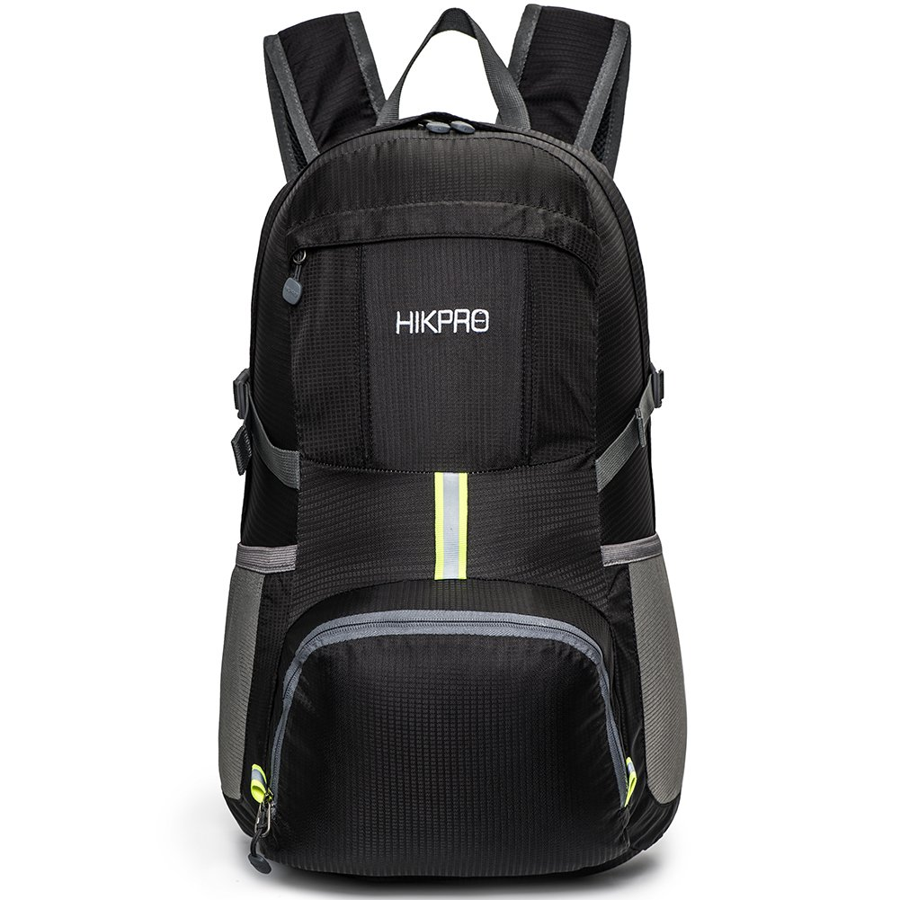 HIKPRO 35L - Ultra Lightweight & Ultra Durable Packable Backpack,Water Resistant Travel Hiking Daypack For Men & Women