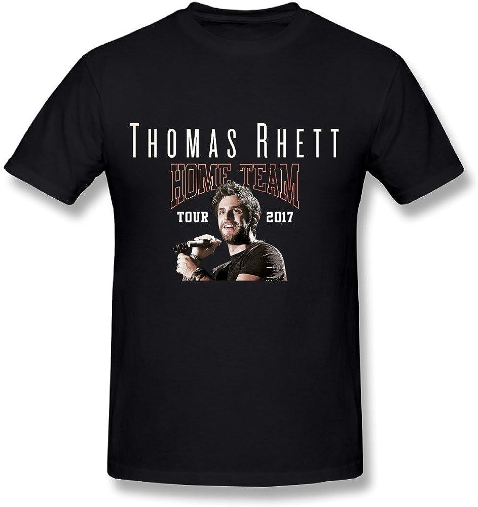 JRTH Hot Sale Home Team Thomas Rhett Tour 2017 T Shirt For Men