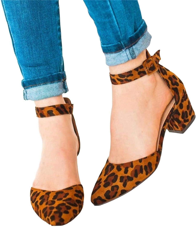 con Lacci alla Caviglia Tacco a Blocchi da Donna Mary Janes in Pelle Scamosciata