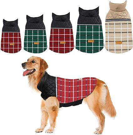 Dog Vest Waterproof Winter Dog Clothes Pet Apparel for Dogs Dog Jacket Pet Camouflage Waterproof FakMe Dog Winter Coat