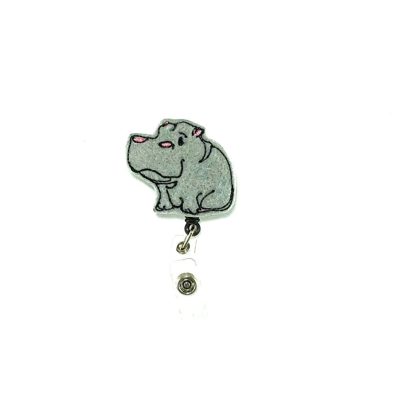 Hippo Badge Reel