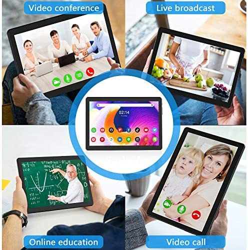 Tablet 10 inch Octa Core Tablet, 1920x1200 IPS HD Display, Android 9.0, 32 GB Storage, 5MP Dual Camera, 1920x1200 IPS HD Display,5G WiFi,GPS,Bluetooth,Black