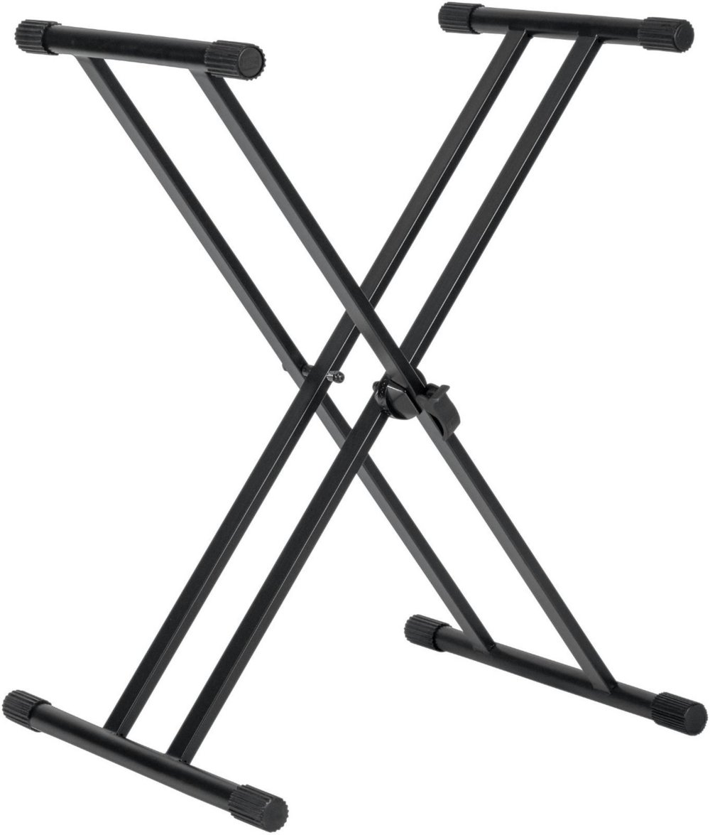 Gator Frameworks GFW-KEY-2000X Deluxe Adjustable Double Brace X-Style Keyboard Stand