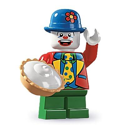 Lego Series 5 Small Clown Mini Figure: Toys & Games [5Bkhe2003361]
