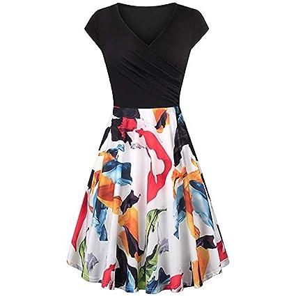 a46f0f2e533 Amazon.com  Vintage Retro 1950 s Audrey Hepburn Party Dress ...