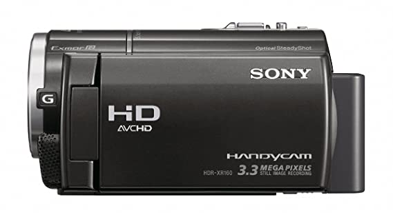 sony hdr xr160 high definition handycam camcorder amazon co uk rh amazon co uk sony handycam hdr-xr160 specs Sony Camcorder Hard Drive