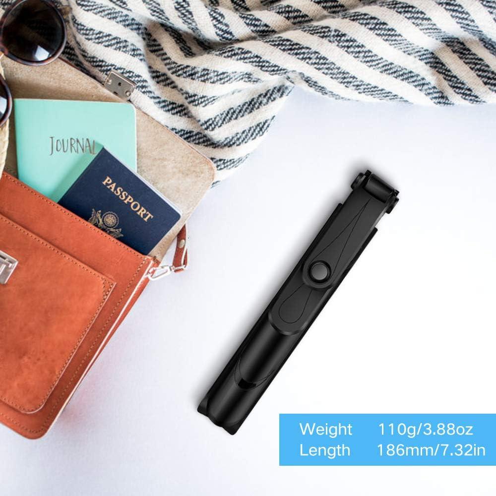 Selfie Stick Bluetooth, Doosl Selfie Stick Tripod - Extendable Tripod Stick with Remote - Facetime Phone Stand, Wireless Selfie Stick Tripod, Portable Tripod for Phone: Camera & Photo