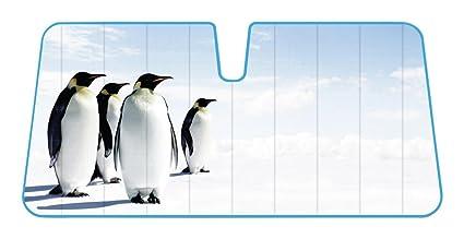 Pingüinos Alaska polo norte reflectante lámina de doble burbuja ...