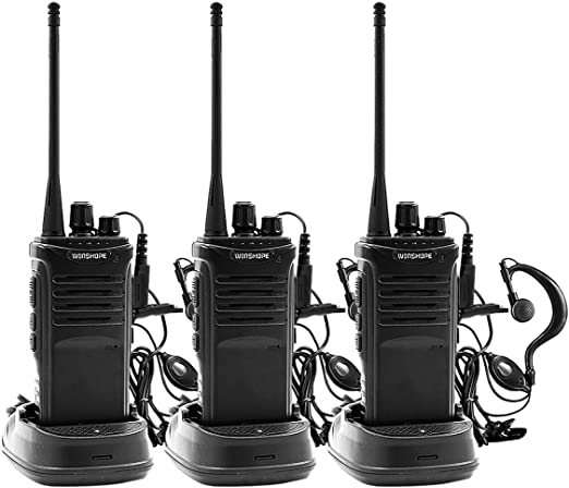 1//2 PCS Two Way Ham radio earpiece earphone for BaoFeng UV5R 888S Walkie Talkie