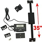35 Inch Remote Vertical Digital DRO Quill LCD