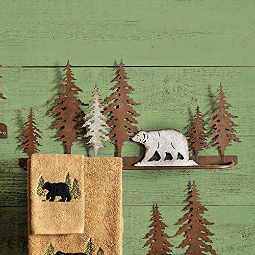 Bear Metal Art (Bear Metal Art Towel Bar)