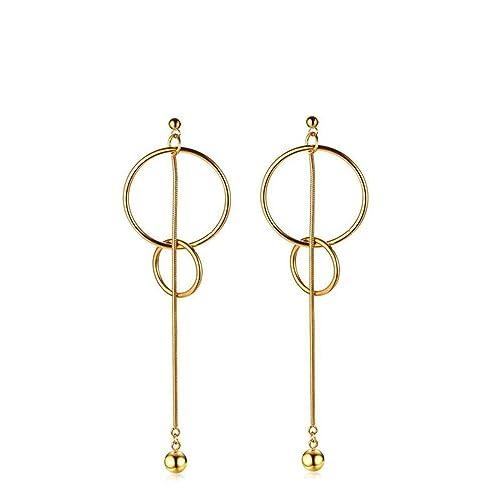 a29900c7d Amazon.com: Anazoz Women Jewelry Stainless Steel Interlock Drop Dangle  Earrings: Jewelry