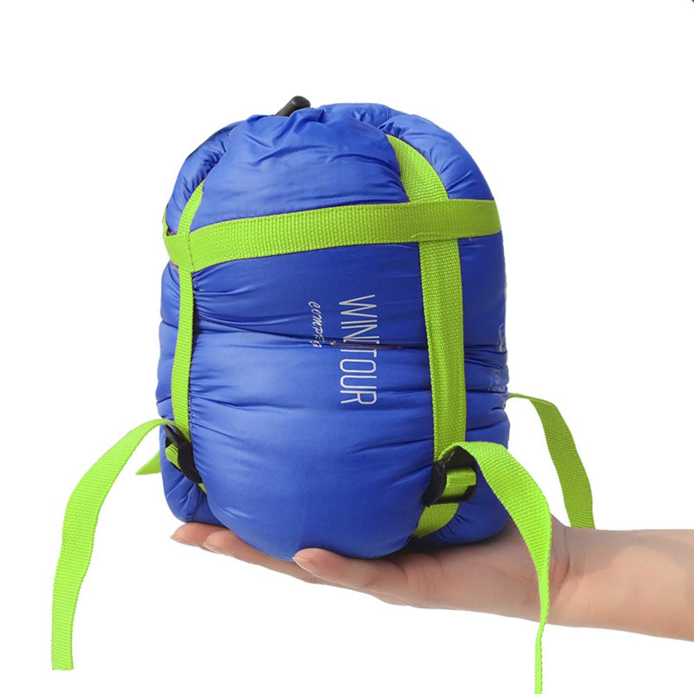 Meiyiu Ultralight Outdoor Emergency Sleeping Bag, Portable Moisture-Proof Camping Sleep Pad Blue by Meiyiu