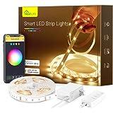 Treatlife Smart Led Strip Lights, 16.4ft Color Changing WiFi Rgb Led Lights TV Backlight, Works with Alexa, Google Home for V