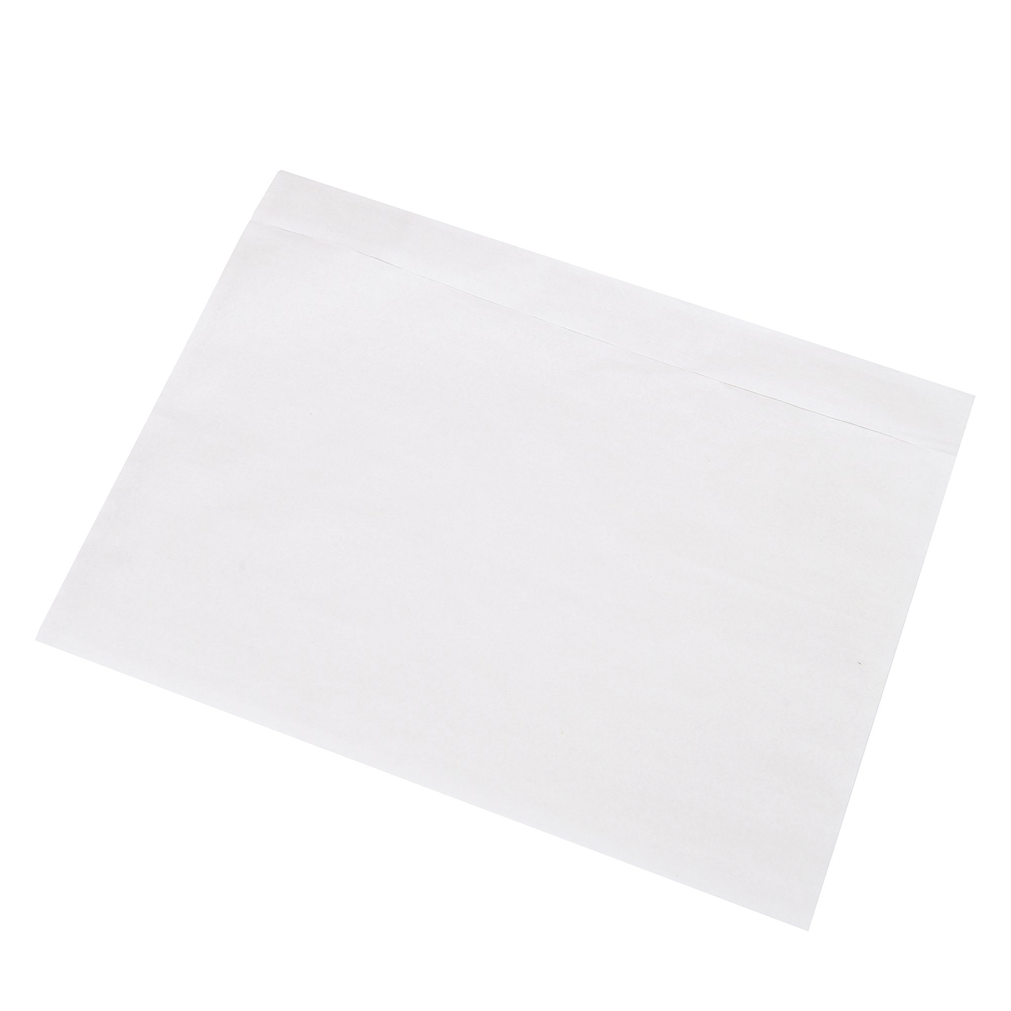 SJPACK 200 7.5'' x 5.5'' Clear Adhesive Top Loading Packing List / Label Envelopes Pouches by SJPACK (Image #2)