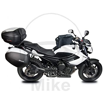 Shad Y0XJ69IF Soporte Maletas 3P System para Yamaha Diversion Xj6 Abs Negro: Amazon.es: Coche y moto