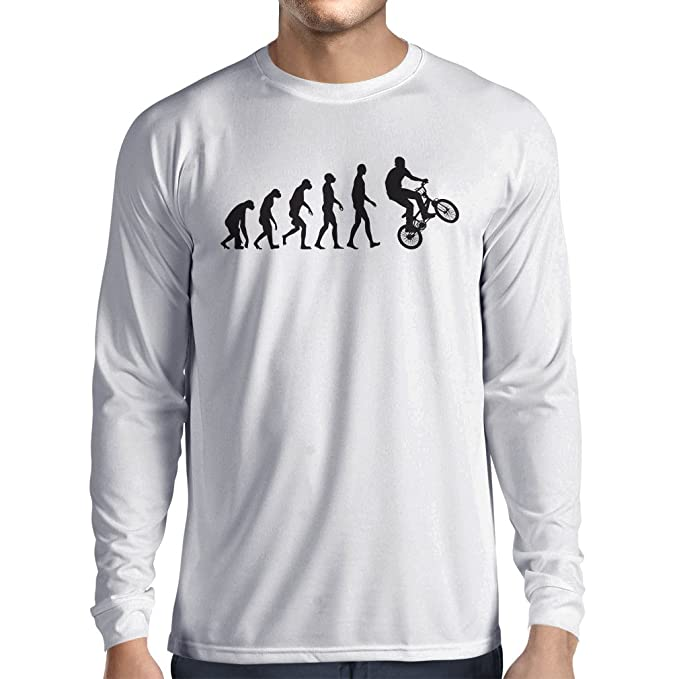 Amazon.com: Manga larga T Shirt Hombres Evolución Humana y ...