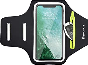 Running Cell Phone Armband Phone Holder for iPhone 12 11 Pro XR XS 8 7Plus,Galaxy S20 S10, Note 20/10, Running Arm Band Case Gear Accessories for Runners,Jogging,Exercise,Workout