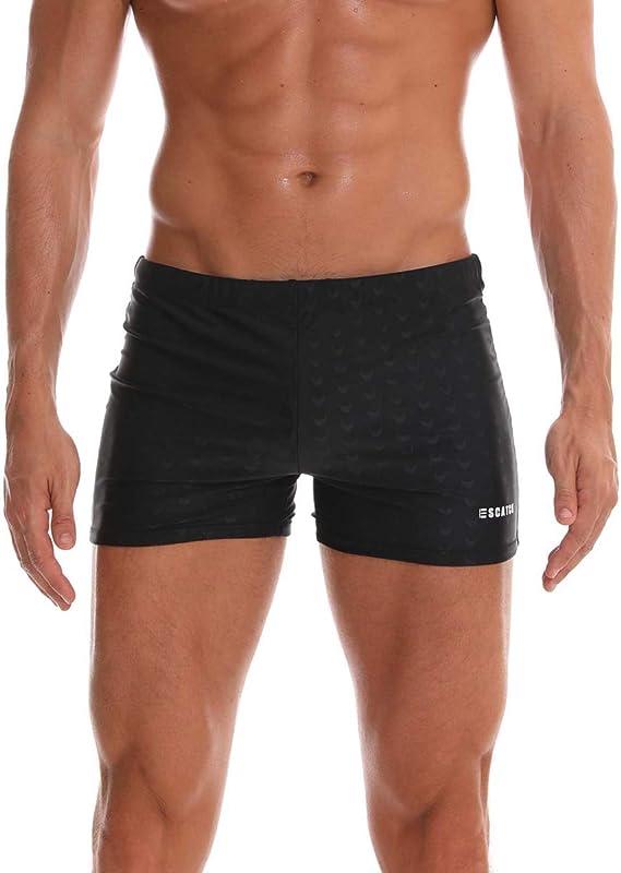Roti Garden Mens Swim Trunks Swimming Short Pants with Pockets Swimwear  Swimsuit Boxer Briefs: Amazon.ca: Clothing & Accessories