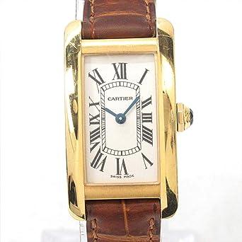 official photos fe80d db98f Amazon | [カルティエ] Cartier タンクアメリカンSM 腕時計 ...
