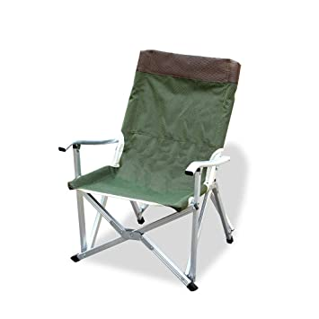 Amazon.com: Silla de pesca al aire libre camping portátil ...