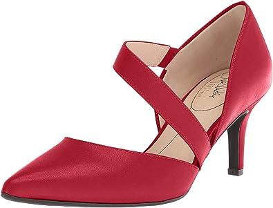 LifeStride Womens Parigi Dress Pump 7 M US Dark red
