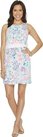 e5892536220 Lilly Pulitzer Women s Arden Shift Serene Blue Gypsea Dress at ...