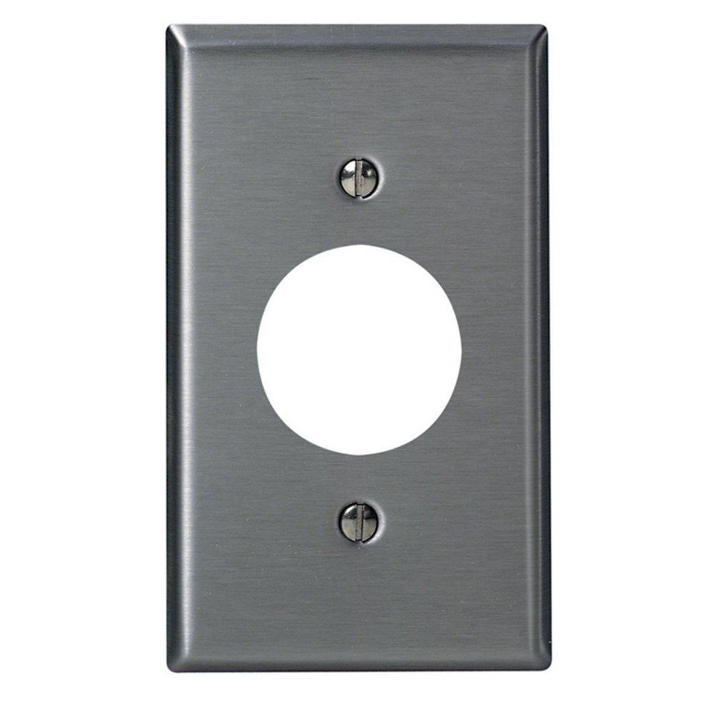 Leviton 84004-40 1-Gang, Single 1.406-Inch Hole Device Receptacle ...