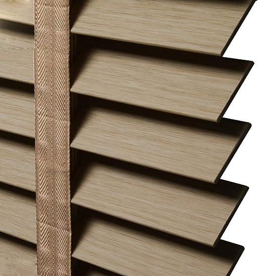 WENZHE Venecianas Estores De Bambú Persiana Enrollable Impermeable A Prueba De Aceite Sombreado Grano De Madera De PVC Escalera De Ensanchamiento Casa Oficina, 3 Colores, Tamaño Personalizable: Amazon.es: Hogar