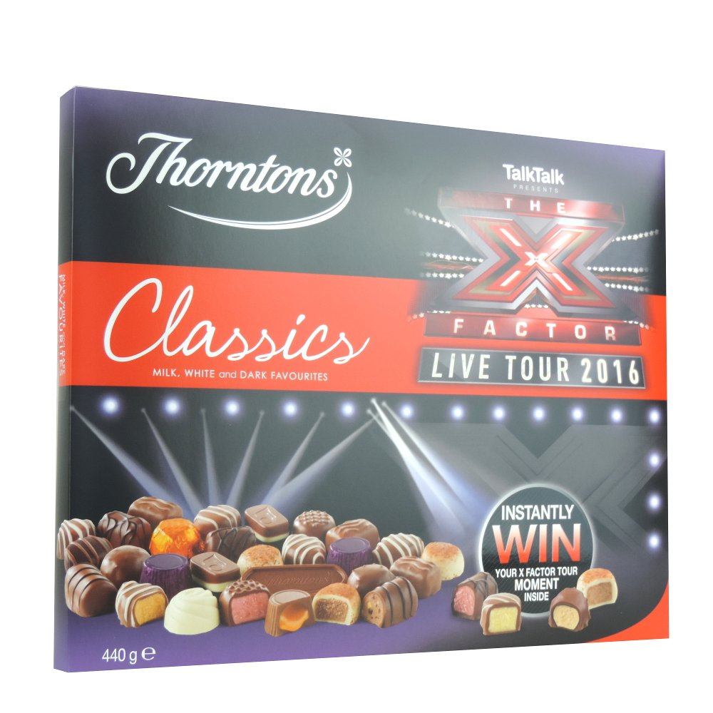 Thorntons - Classics - X Factor Box - 440g (Case of 9)