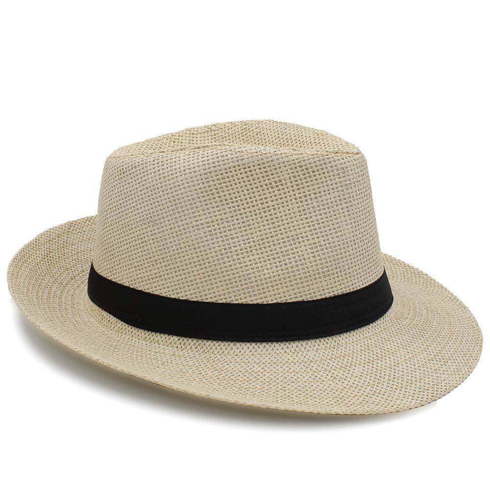 HYF Mens Autumn Winter Hats Casual Solid Plain Black Grey Coffee Fedora Hats Retro Derby Jazz Hats British Trilby Hats