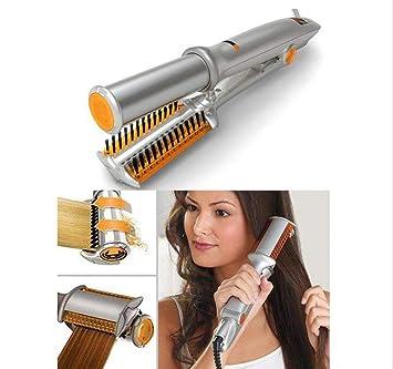 Planchas Rizadoras Rizador De Cabello Cerámica Control De Temperatura Plancha Giratoria Tenacillas Y Alisador De Cabello