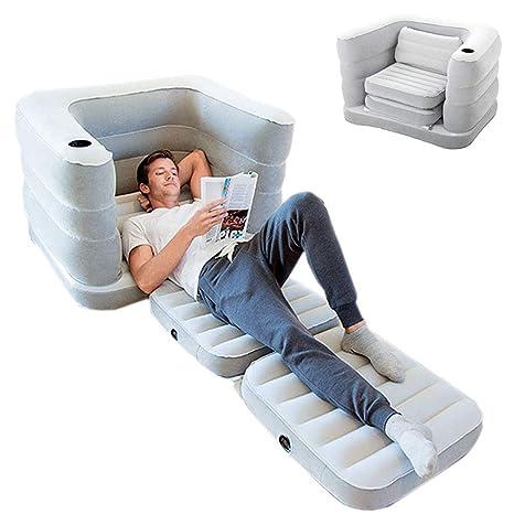 EFGS Multifunción Portátil Sofa Hinchable, Impermeable ...