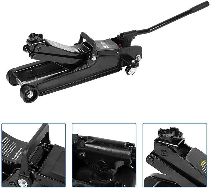 Wagenheber Rangierwagenheber Hydraulisch Schwerer Hydraulikwagen Schwarz Floor Jack Hebewerkzeug 2 5t Auto