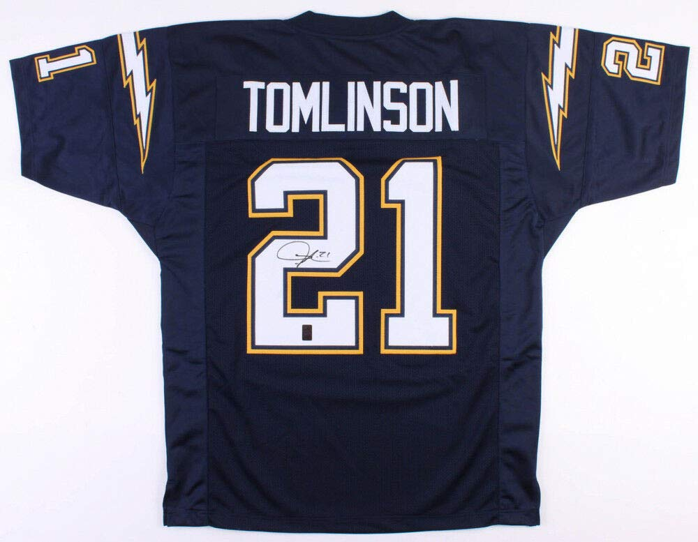 los angeles 4dd69 3a1a3 Ladainian Tomlinson Autographed Signed Memorabilia Chargers ...
