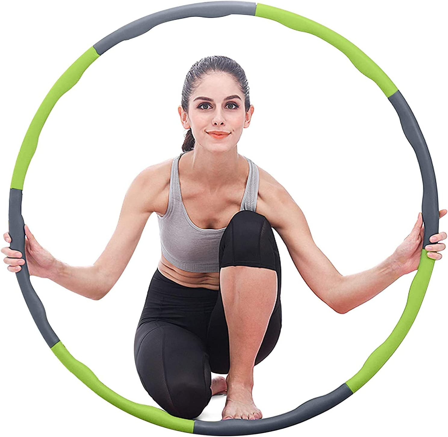 ablever Hula Hoop, Hula Hoop Can Be Used For Weight Loss And Massage