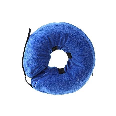 Snner - Collar Hinchable de recuperación para Perros y Gatos, 22 x ...