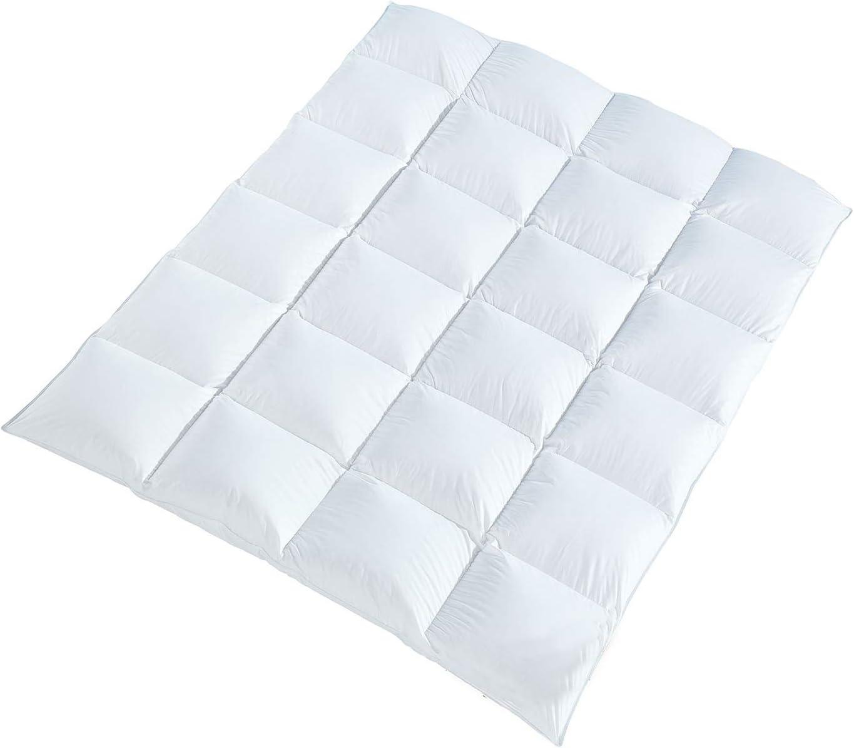 DAUNENBETT Hotel Qualit/ät Daunendecke Daunendecken Decken Decke Bett Bettdecke Zudecke Steppdecke 135x200 cm
