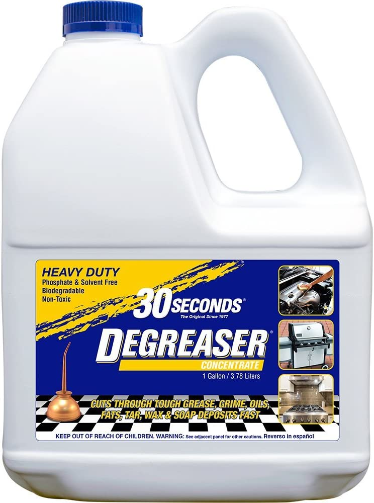 30 SECONDS Degreaser, 1 Gallon - Concentrate