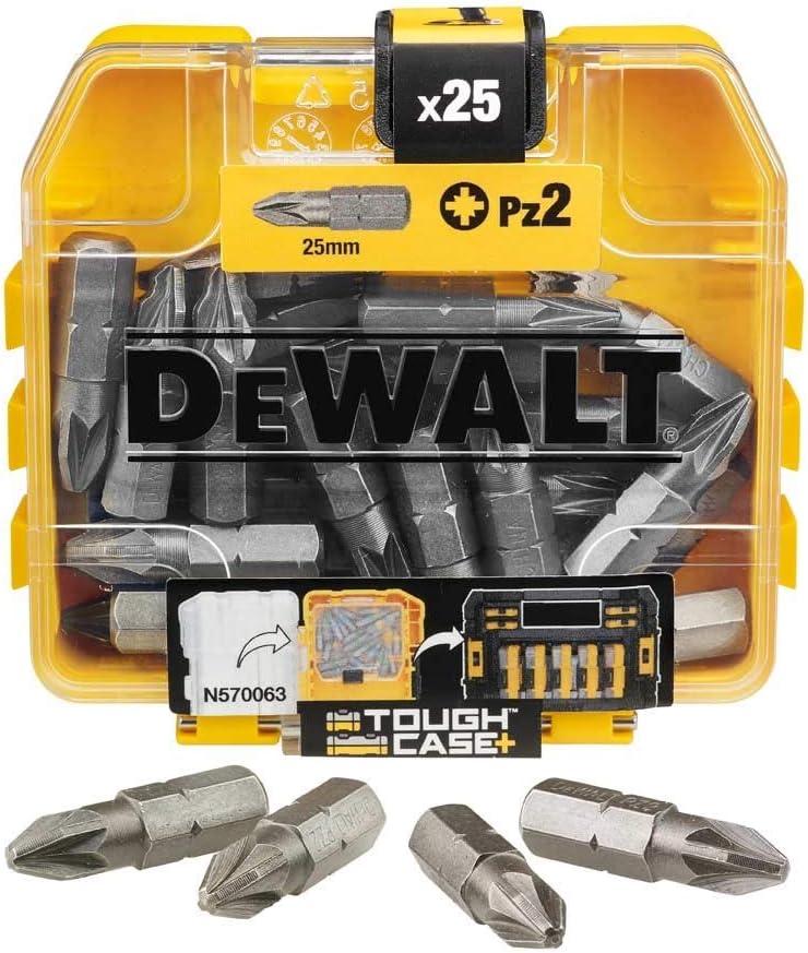 DeWalt Lot de 25 embouts de tournevis /à impact PZ2 25 pi/èces