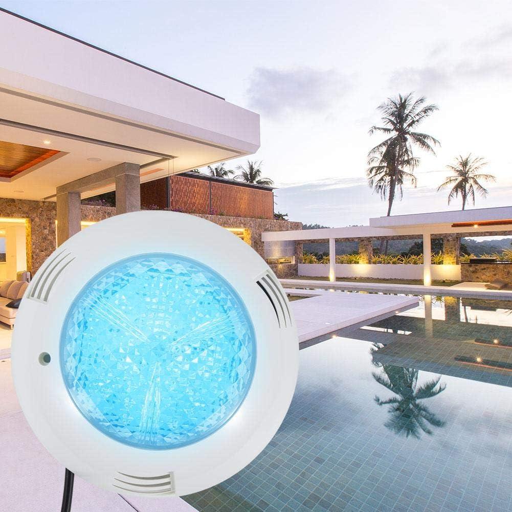 RGB Hongzer Unterwasser-Schwimmbadleuchte 15 W AC12V LED RGB Unterwasserleuchte IP68 wasserdichte RGB-Schwimmbadbeleuchtung mit Fernbedienung