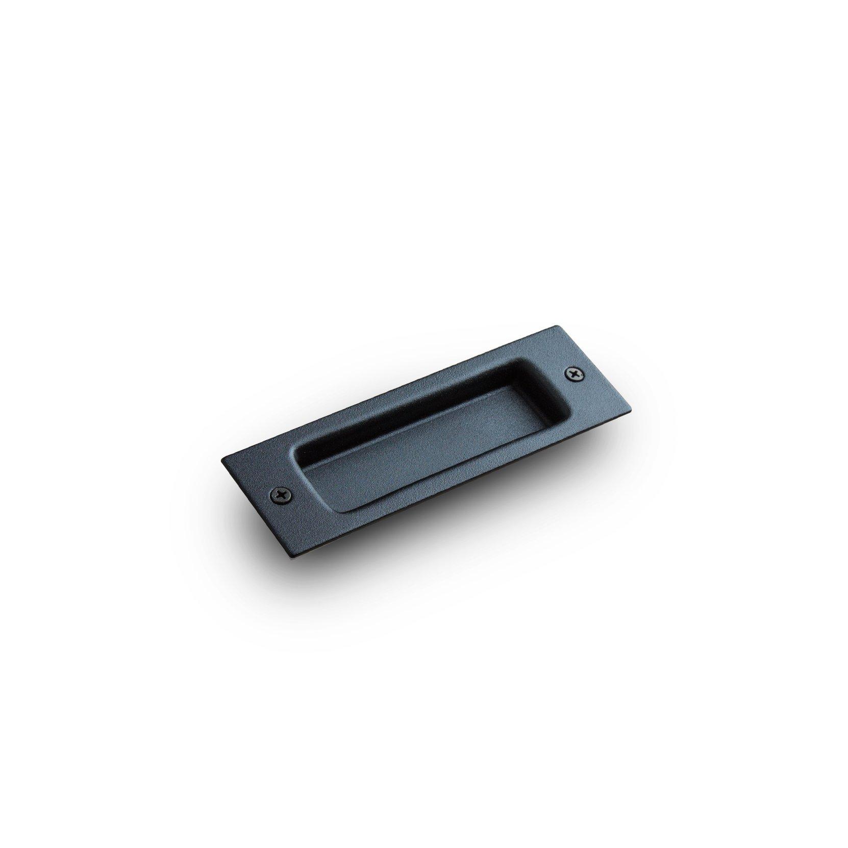Flush Barn Door Handle Pull Grab for Sliding BarnDoor Hardware Artisan Hardware (Black) by Artisan Hardware (Image #1)