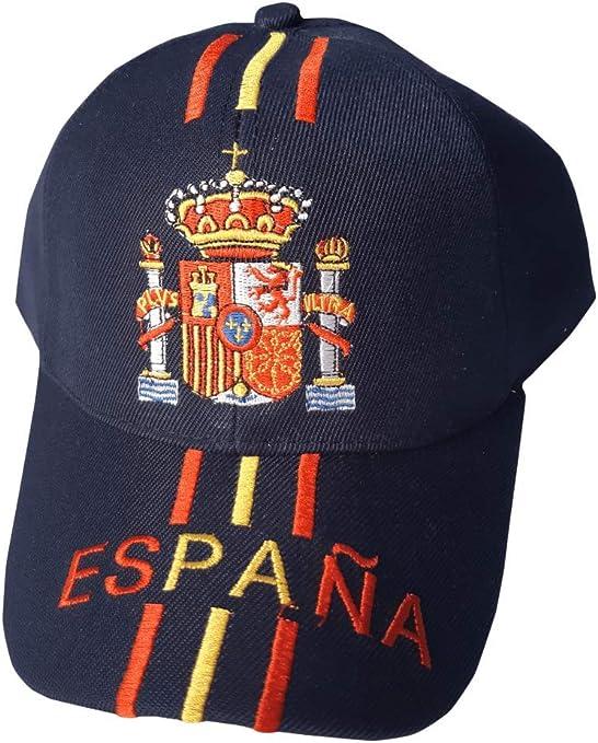 Tianxiang Gorra con Escudo Bordado de España - Talla Adulto ...