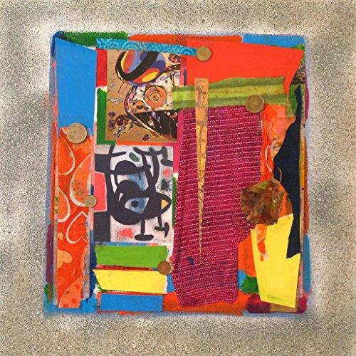 Miro Abstract Painting - Loose Change Series: Miro